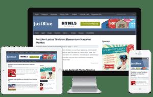 JustBlue: Tema Gratuito para Blog em WordPress