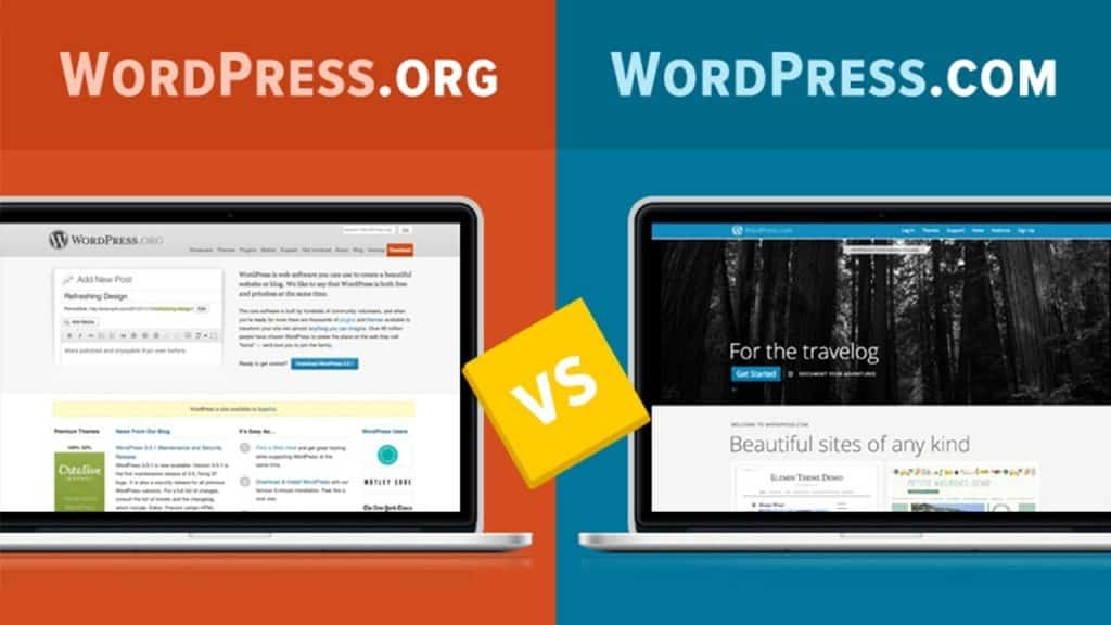 WPNow WordPress com WordPress org 1