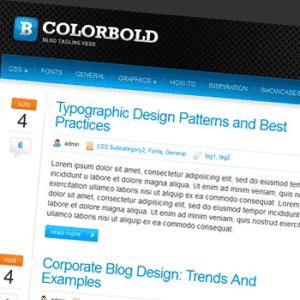 Colorbold – Tema Gratuito para WordPress