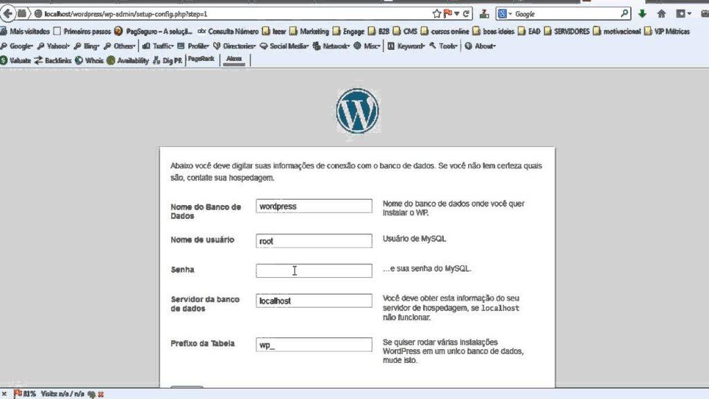 Localhost WordPress
